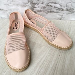 Sam Edelman CIRCUS pink espadrilles size 9.5